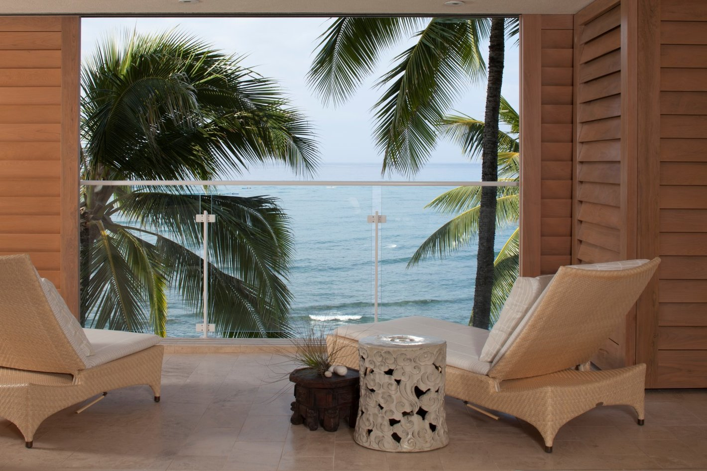Waterfront Grace Balcony - Luxury Residential by Philpotts Interiors