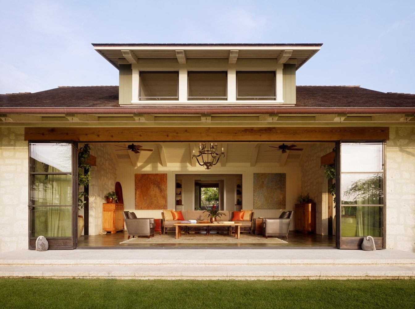 Putting On A New Face Living Room Exterior - Luxury Residential by Philpotts Interiors