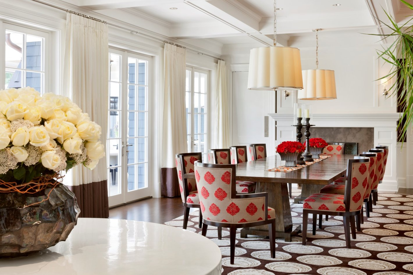 Colorado Luxe Dining Bar - Luxury Residential by Philpotts Interiors