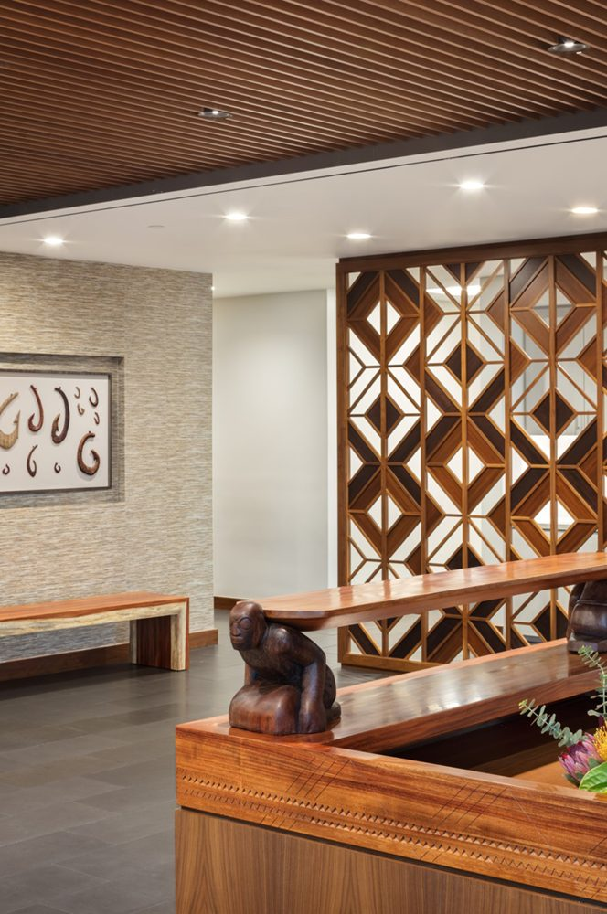 Kings Hawaiian Corporate Office Lobby - Philpotts Interiors