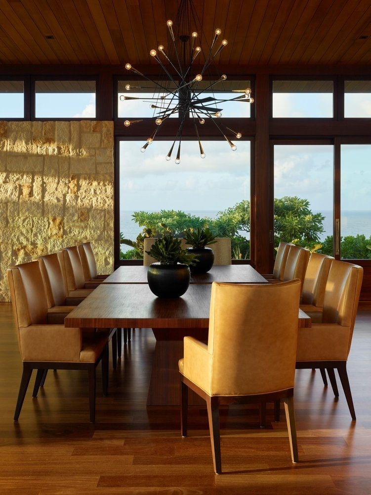 Kalihiwai Ranch Dining Room - Luxury Residential by Philpotts Interiors
