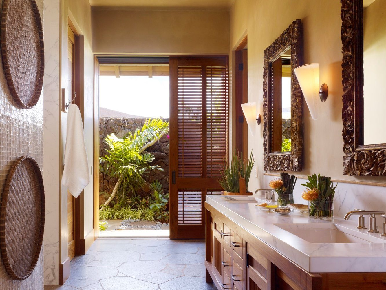 View From the Terraces Bathroom - Luxury Residential by Philpotts Interiors