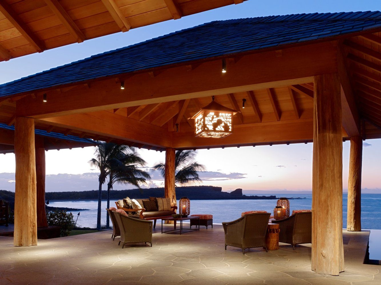 View From the Terraces Grand Lanai - Luxury Residential by Philpotts Interiors