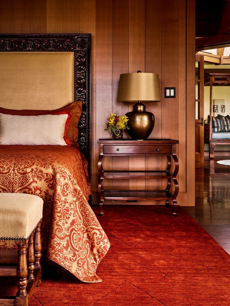 Waiolu Master Bedroom - Luxury Residential by Philpotts Interiors