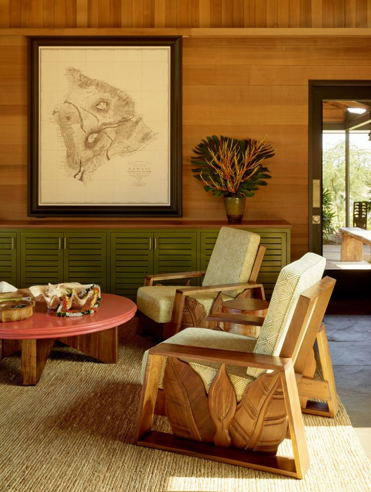 Kahua Kuili Chair Vignette Luxury Residential by Philpotts Interiors