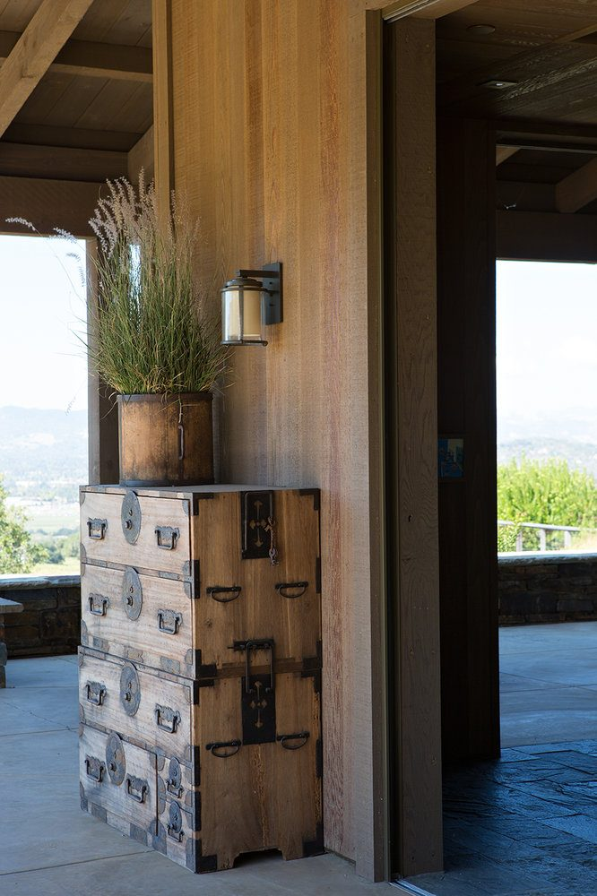 California Dreaming Tonsu Detail Vignette Luxury Residential by Philpotts Interiors