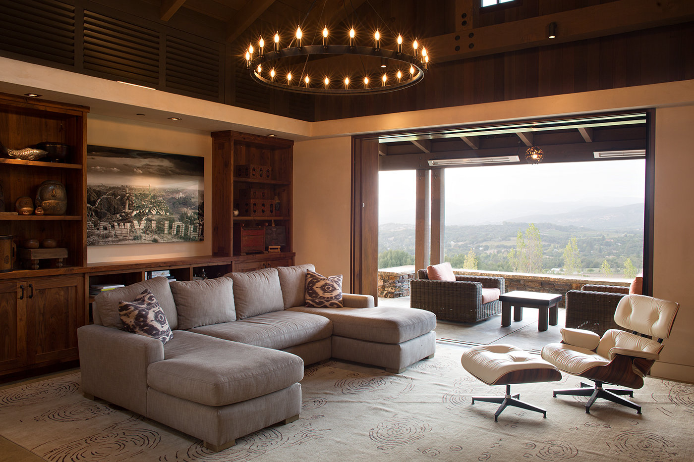 California Dreaming Lounge Luxury Residential by Philpotts Interiors