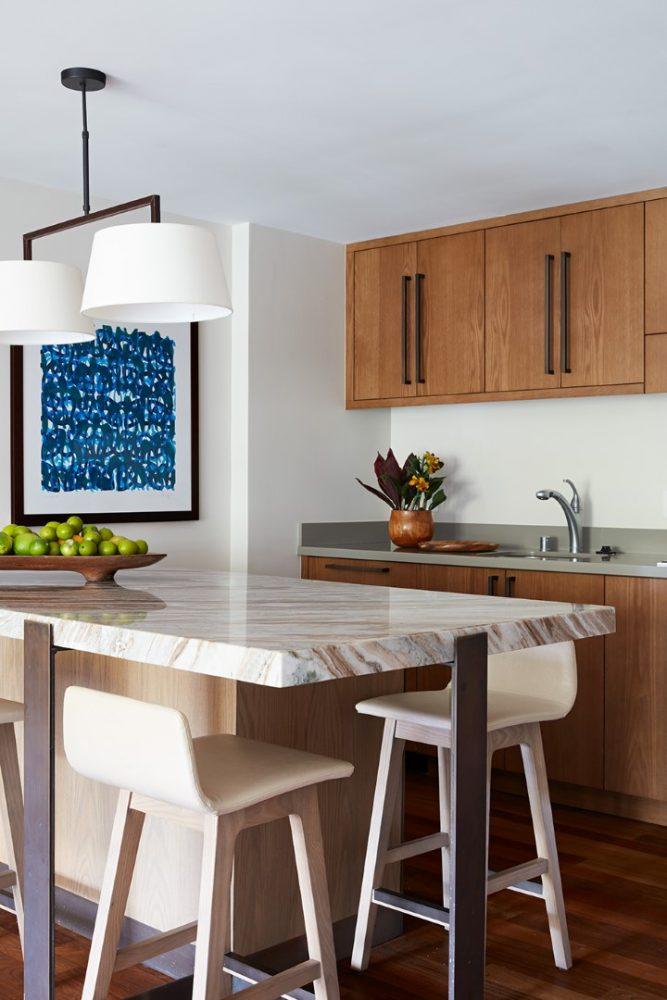 Ritz Carlton Kapalua Residence Kitchen by Philpotts Interiors