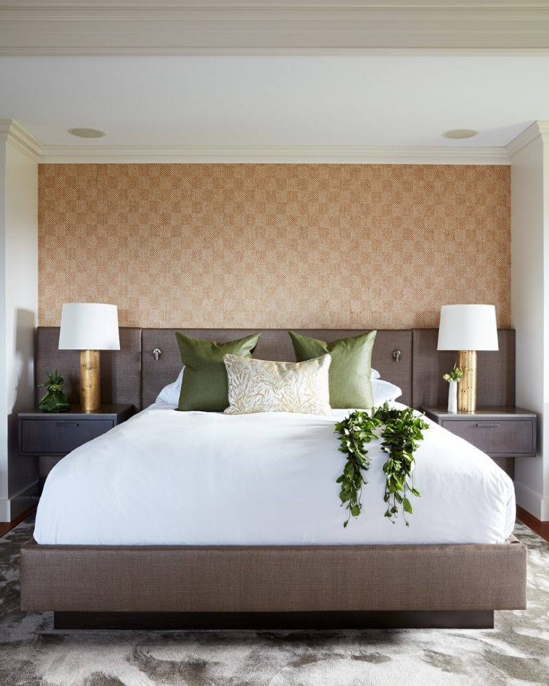 Ritz Carlton Kapalua Presidential Suite Bed by Philpotts Interiors
