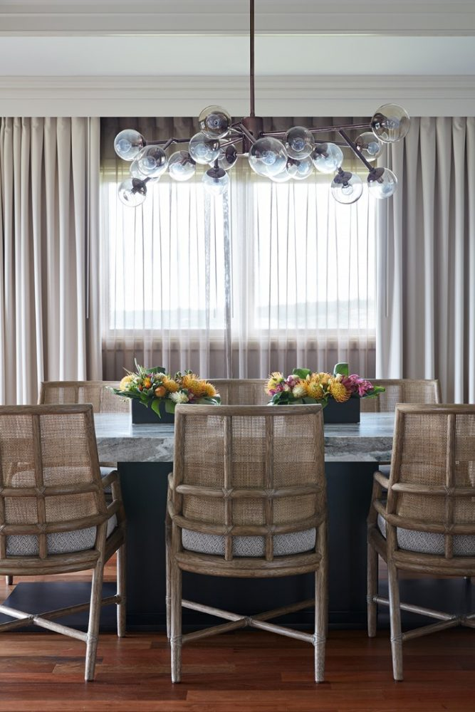 Ritz Carlton Kapalua Presidential Suite Dining Room by Philpotts Interiors