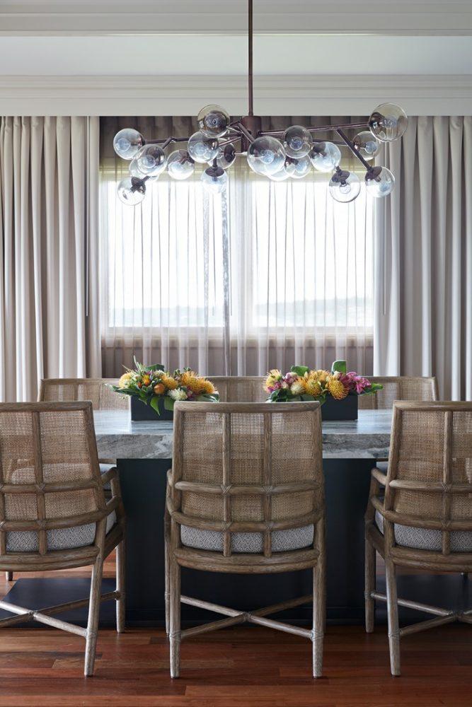 Ritz Carlton Kapalua Presidential Suite Dining Room by Philpotts Interiors