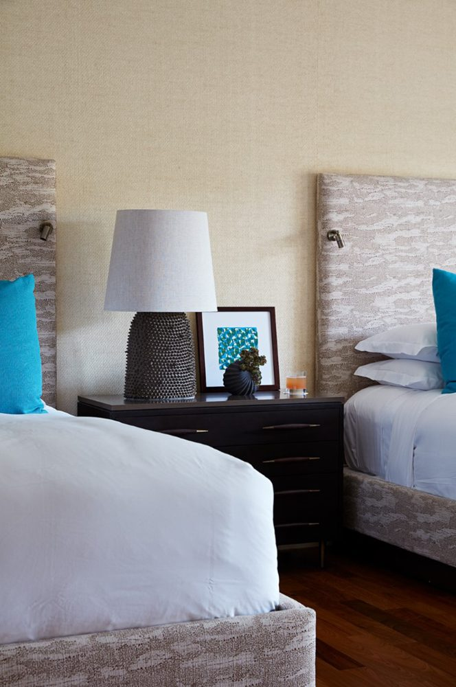 Ritz Carlton Kapalua Guestroom Bedroom - Philpotts Interiors
