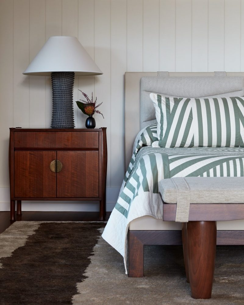 Garden Isle Residence Master Bedroom Headboard - Philpotts Interiors