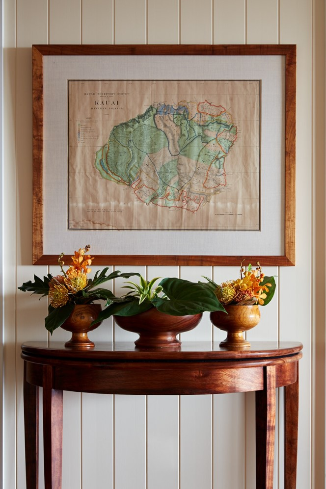 Garden Isle Residence Kauai Map - Philpotts Interiors