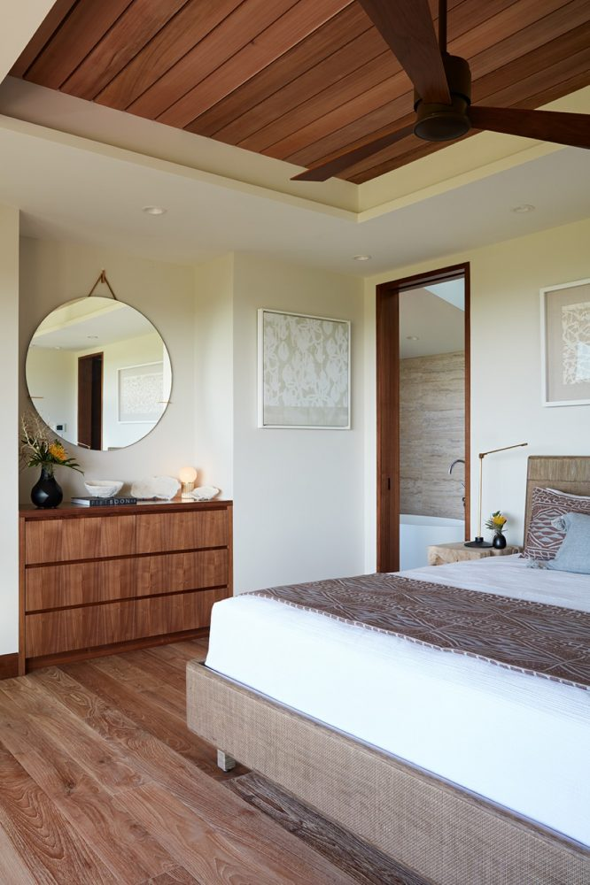 Hale Ike Mala Residence Master Bedroom by Philpotts Interiors