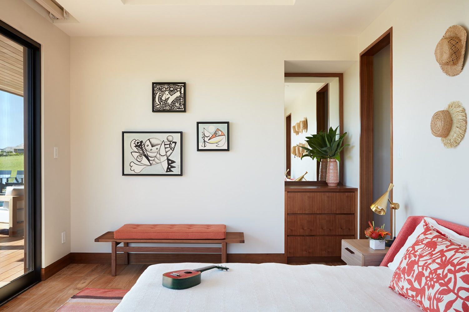 Hale Ike Mala Residence Guest Bedroom by Philpotts Interiors