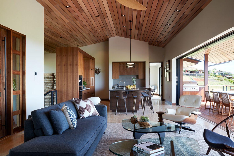 Hale Ike Mala Residence Living Room by Philpotts Interiors