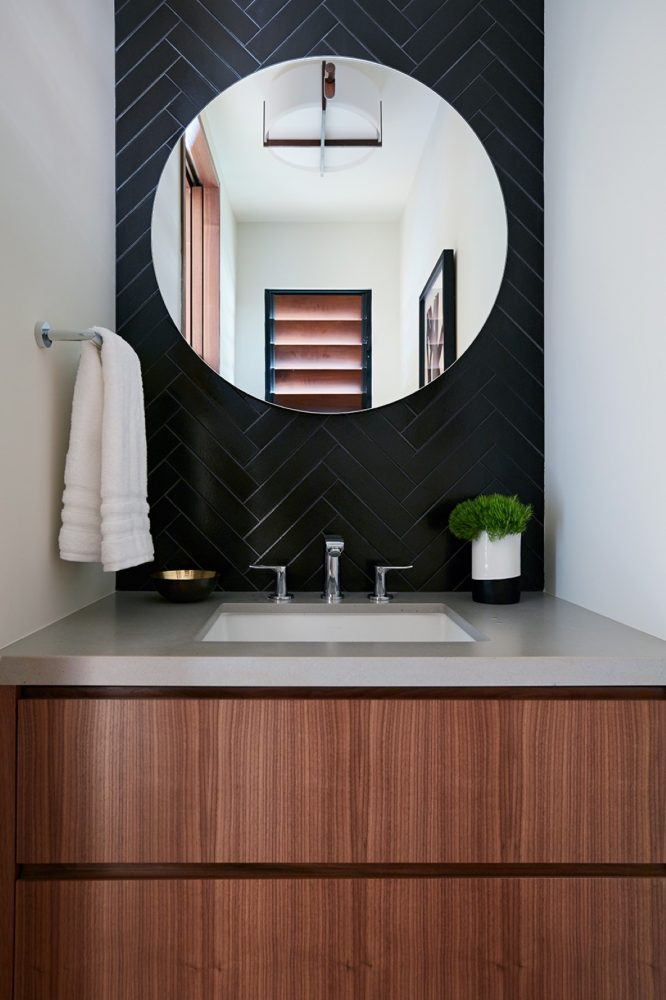 Hale Ike Mala Residence Powder Room by Philpotts Interiors