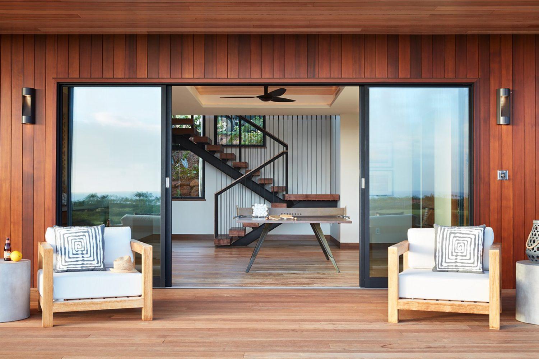 Hale Ike Mala Residence Lanai by Philpotts Interiors