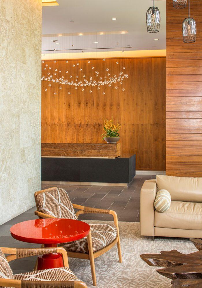 Waihonua Lobby - Philpotts Interiors