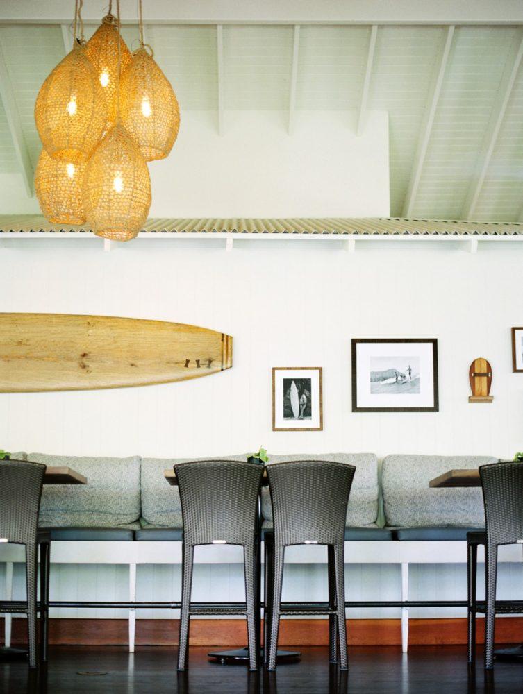 Plantation Gardens Restaurant Banquette Art - Philpotts Interiors