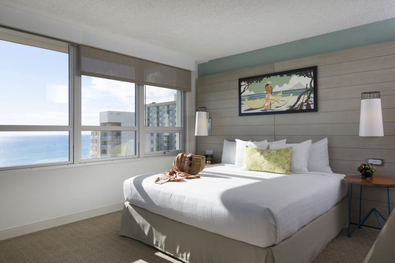 Queen Kapiolani Hotel Guestroom - Philpotts Interiors