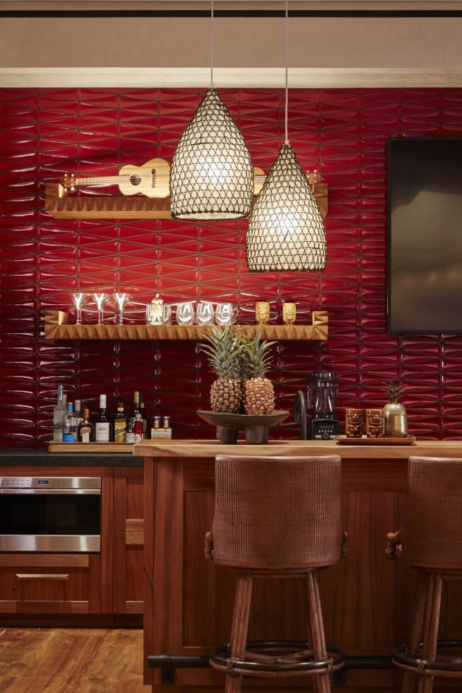 Malie Residence Tiki Bar - Philpotts Interiors