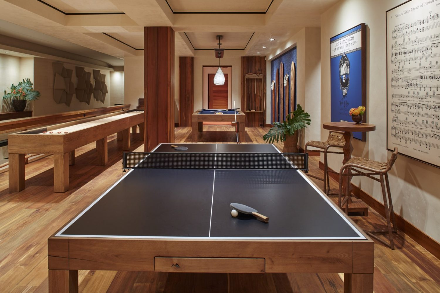 Malie Residence Ping Pong Table - Philpotts Interiors