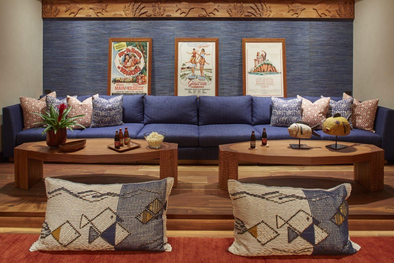 Malie Residence Recreation Room - Philpotts Interiors