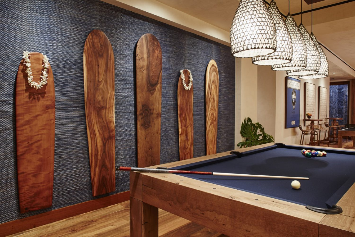 Malie Residence Pool Table - Philpotts Interiors